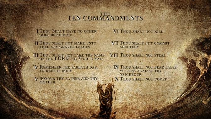 10 Commandments- Keeping the Name of God