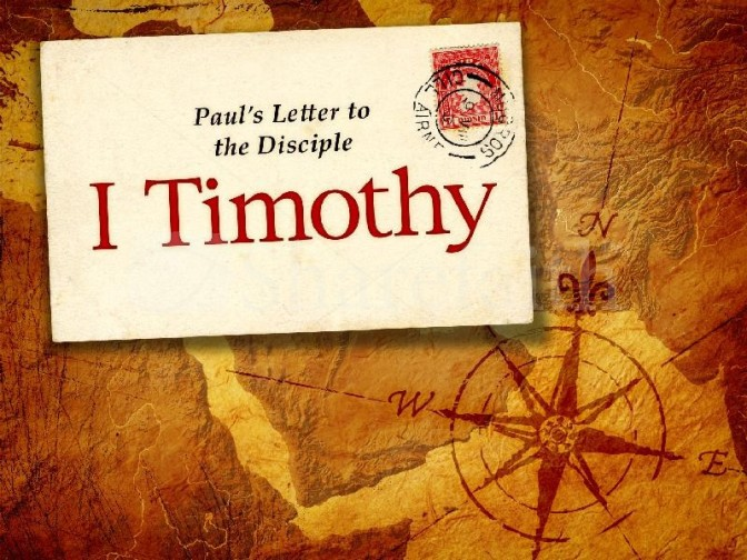 Introducing New 1st Timothy Discipleship Coursework