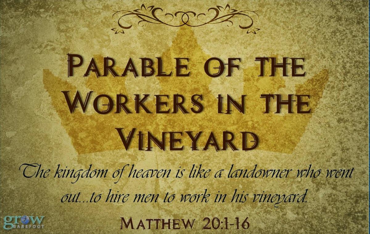 God's Economy: Matthew 20:1-16